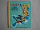Mickey Et Pluto Chasseurs Sous-marins Les Albums Roses 1969. Voir Photos. - Disney