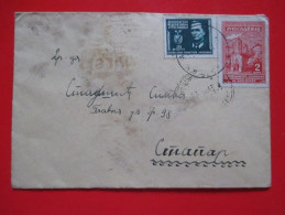 T12-Covers,Envelope,Letter Yugoslavia Army,Partisan Military-1.Vazduhoplovna,Skopje Macedonia-1st Aviation Division - 1945-1992 República Federal Socialista De Yugoslavia