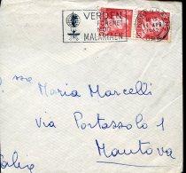 10362 Danmark, Special Postmark 1962  Malaria,  Paludisme  (part Of Cover !!) - Medicine