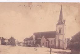 Carte 1920 SENS BEAUJEU / L'EGLISE ET PLACE - Autres Communes
