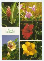 GUYANE FRANCAISE FLEURS DE GUYANE - NON CIRCULÉE - Blumen