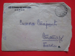 T10-Covers,Letter Yugoslavia-Cancel Grof Draskovic,Darda-12 Vojvodina Brigade,2 Battalion,Company Supporting Tools - 1945-1992 República Federal Socialista De Yugoslavia