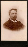 Photo-carte De Visite / CDV / Homme / Man / Photo / J. Buguis (?) / J. Buguir / 1904 - Personnes Identifiées