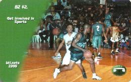 BELIZE $2 BASKETBALL SPORT 1999 PIN ED. 01/06/1997 MINT READ DESCRIPTION !!