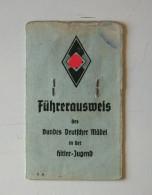 ALLEMAGNE WW2 - CARTE AUSWEIS JEUNESSE - 1939-45