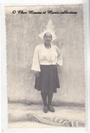 LES SABLES D OLONNE - SABLAISE - FILET DE PECHE - COSTUME TRADITIONNEL - VENDEE 85 - PHOTO - Anonymous Persons