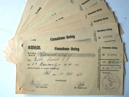 ALLEMAGNE WW2 - KRIEGSWINTERHILFSWERKES (Aides D´hiver Au Travail) Reçu KWHW - 1939-45