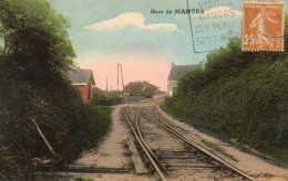CPA- MAMERS (72) - Aspect De La Gare Et De La Ligne De Chemin De Fer Dans Les Années 20 - Mamers
