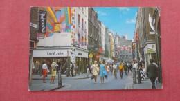 > England> London  Carnaby Street Paper Rub Right Side = Ref 2256 - London