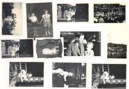 11 Photos Amateur, Monteux ( Vaucluse ), Familles, Enfants, Communion, Fête - Lieux