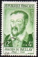 Oblitération Cachet à Date Sur Timbre De France N° 1166 - Joachim Du Bellay - Gebraucht