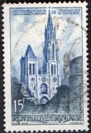 France Oblitération Cachet à Date N° 1165 - Cathédrale De Senlis - France