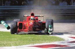 Ferrari F1 310  -  F1 Grand Prix   -  15x10 Carte Panini - Grand Prix / F1