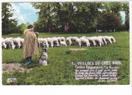 25793 Le Buzançais : Groupe Folklorique Trois Trefles Veillées De Chez Nous -Roussel -mouton Berger Chien - France
