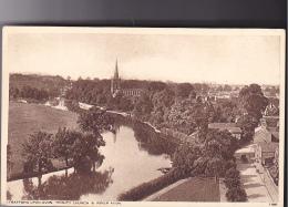 25795 STRATFORD UPON AVON - Trinity Church River Avon -11097 London And Tunbridge Wells