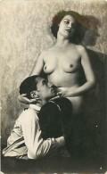 A-16 8608 : HOMME ET FEMME NUE CARTE PHOTO - Nus Adultes (< 1960)