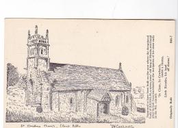 25797 St Kenelms Church Kenelm Clent Hills -sans Ed 846-7 Dessin  J.H.Lashmotl ? - Worcestershire