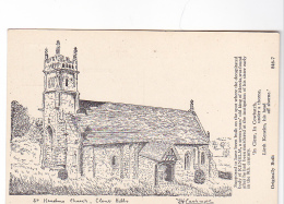 25797 St Kenelms Church Kenelm Clent Hills -sans Ed 846-7 Dessin  J.H.Lashmotl ?