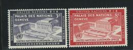 NATIONS UNIES - NEW YORK:  **, N°25 Et 26, TB - New York -  VN Hauptquartier