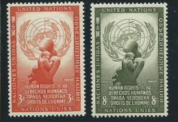 NATIONS UNIES - NEW YORK:  **, N°29 Et 30, TB - New York -  VN Hauptquartier