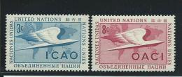 NATIONS UNIES - NEW YORK:  **, N°31 Et 32, TB - New York -  VN Hauptquartier