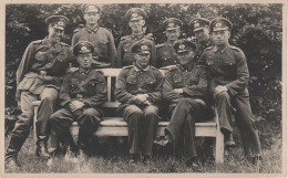 AK Militär Militaire Wehrmacht Kompanie Division Offiziere Lüneburg Juni 1943 Friedrich 2. Weltkrieg Guerre Mondial - Personaggi