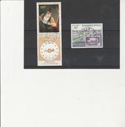 SENEGAL - POSTE AERIENNE - N° 72 A 73 OBLITERE - ANNEE 1968-69 - Seychelles (1976-...)