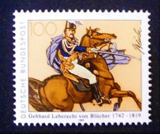 BLÜCHER A CHEVAL 1992 - NEUF ** - YT 1473 - MI 1641 - Unused Stamps