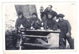 Photo Soldats, Guerre 1939-1940, Chasseurs Alpins - Guerre, Militaire