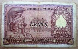Italien - 100 Lire - [ 2] 1946-… : Républic