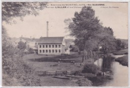 Environs De Montbéliard - Sainte-Suzanne - Vue Sur L'Allan Et Les Usines L'Epée - Non Classés
