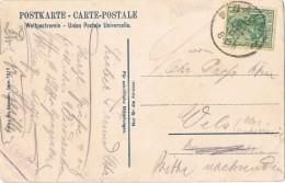 18449. Postal CALW (Aemania Reich) 1909, Partie Beim Schlosssberg - Cartas