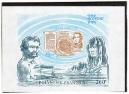 Polynésie:Bloc N°13**(capex 87:exposition Philatélique Tonroto) - Blocchi & Foglietti
