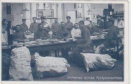 Inneres Eines Feldpostamtes - 1918     (160619) - Matériel