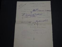 FRANCE - Laissez Passer  De St Amand Du Ventôme En 1940 - A Voir - L 169 - Documents