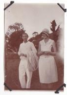 11- Photo Vancances Aout 1929 -entre Kerfany Les Pins Et Le Pouldu -finistere Bretagne Moellan-coin Abimé -plage