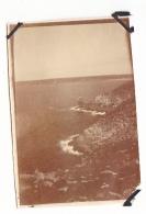 15- Photo Vancances Aout 1929 -entre Kerfany Les Pins Et Le Pouldu -finistere Bretagne Moellan-coin Abimé -