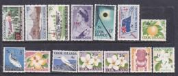 Cook Islands  SG 205-218 1967 Decimal Currency MNH - Cook