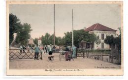 Seine Et Marne : Gretz Armainvilliers : Avenue De Chevry - Gretz Armainvilliers