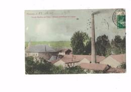 55 - VARENNES-EN-ARGONNE - GRANDS MOULINS SUR L´AIRE - FILATURE HYDRAULIQUE ET A VAPEUR - 1913 - Frankreich