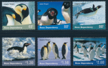 ROSS DEPENDENCY 2001 Penguins Set Of 6v** - Ross Dependency (New Zealand)