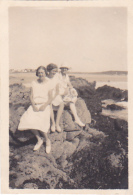 32- Photo Vancances Aout 1926 - Le Pouldu -finistere Bretagne Vannes -femme