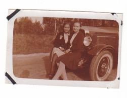 25804- Six Photos Vers 1925 -  Femme -4x6cm -ancienne Voiture - Automobiles