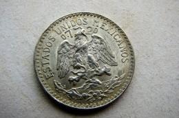 50 Centavos 1943 Argent - Mexique