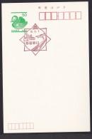 Japan Scenic Postmark, Train Linear Motor Car Flying Squirrel (js2276) - Japan