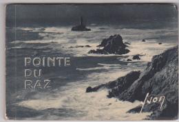 -carnet 15 Vues Yvon - 15 Pointe Du Raz - 3 Iile De Sein -2 Pointe Van -1 Saint Tugen - 14x9.5cm Transbordement Phare