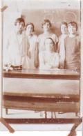 25805 -5 Photos Chalon Sur Marne -France Ecole Filles 1928 -mme Mochkoroscki (?) Classe Mathematique -Rotté