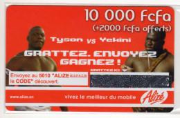 SENEGAL PREPAYEE SONATEL ALIZE 10 000 FCFA