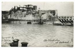 Royal Navy Warship Battleship_HMS Vindictive Ostende - Guerra