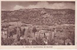 POSTAL DE VALLFOGONA DE RIUCORP DEL HOTEL DOLORES (HUECOGRABADO RIEUSSET) - Tarragona